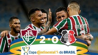 Fluminense 2 X 0 Santa Cruz - Melhores Momentos - Copa Do Brasil (17/04/2019)