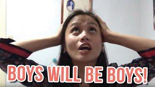 BOYS WILL BE BOYS.....PPPPPPFFFFFTTTTT!!!