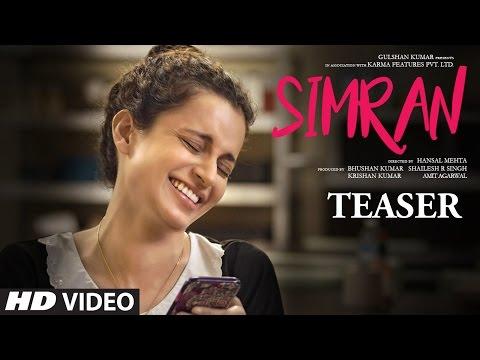Download Official Movie Teaser - Simran | Kangana Ranaut |  Hansal Mehta | T-Series HD Video