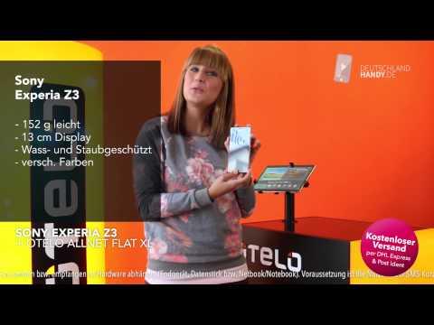 Sony Experia Z3  + otelo Allnet Flat XL Handyvertrag ☆ deutschlandhandy.de ☆