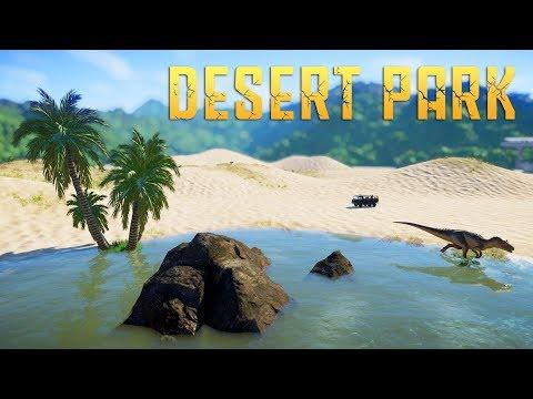 DESERT PARK #02 - Jurassic World Evolution