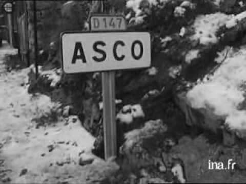 Station de ski d'Asco-1970