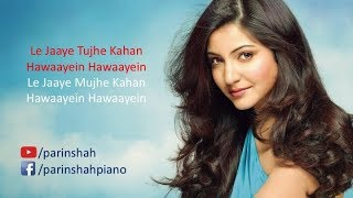 main tenu samjhawan ki arijit singh karaoke with lyrics - TH
