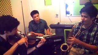 moon river piano and violin - TH-Clip