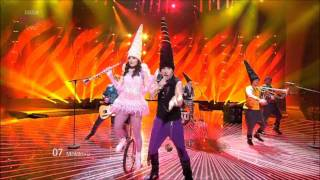 *Eurovision 2011* *Semi Final 2* *07 Moldova* *Zdob şi Zdub* *So Lucky* 16:9 HQ