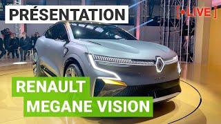 Live Renault eWays : la future MEGANE ELECTRIQUE eVision & la Dacia Spring Electric de série