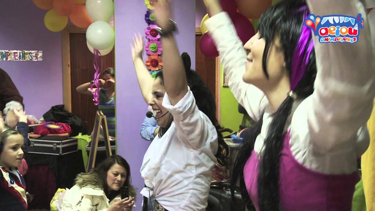 Cantajuegos y minidisco para fiestas de cumpleaños infantiles a domicilio