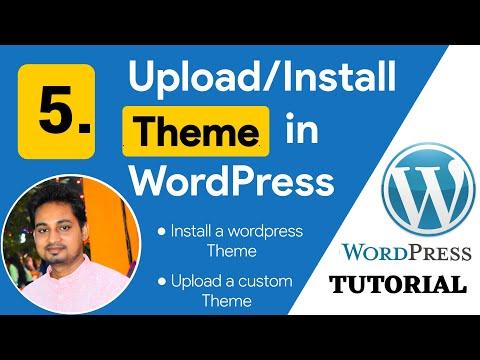 5. How to Upload/Install Theme in WordPress    Wordpress Tutorial for Beginners in Hindi 2021
