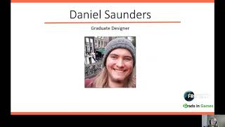 Daniel Saunders, Graduate Designer at Frontier Developments