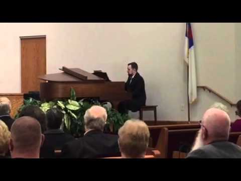 "A piano solo I played in church ""When I Survey"" by Bob Walters"