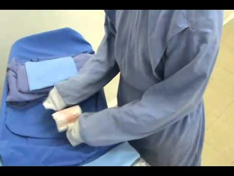 Procedimiento quirúrgico de parto y alumbramiento