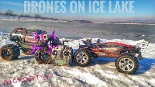 PUSHING FPV LIMITS //drone chasing rc cars//