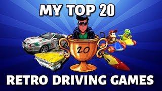My Top 20 Retro Driving/Racing Games