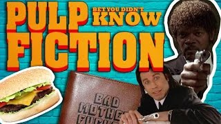 Pulp Fiction (1994 Film) - Facts