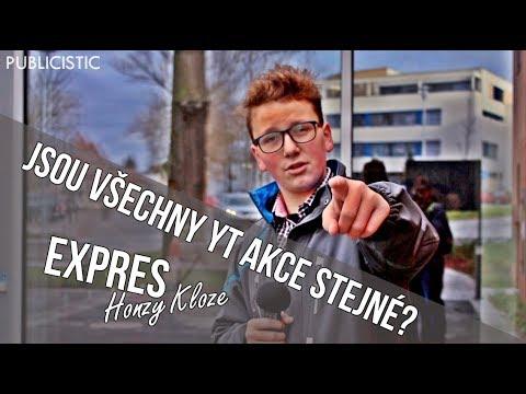 JSOU VŠECHNY YOUTUBERSKÉ AKCE STEJNÉ? | Expres Honzy Kloze #2