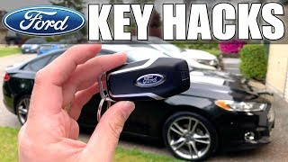 Ford Key Hacks - Tips and Tricks (Did you know you could do this?)