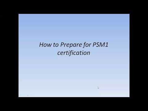How to Prepare for Professional Scrum Master (PSM 1) certification ...