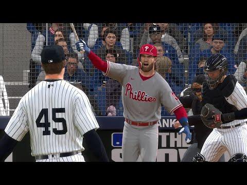 MLB Live 8/3 – Yankees vs Phillies Full Game Highlights | MLB Today August 3rd, 2020 (MLB 20)