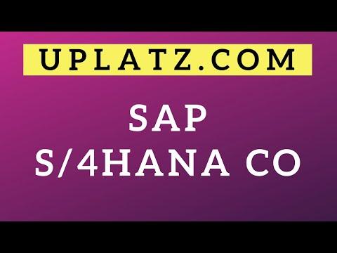 SAP S/4HANA CO 1709 Training & Certification   SAP Controlling ...