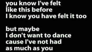 Arab Strap - Don't Ask Me To Dance (Lyrics)