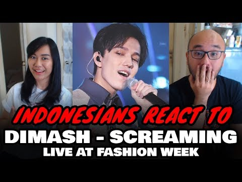 Dimash Kudaibergen - Screaming ~ One Belt and Road - Fashion Week