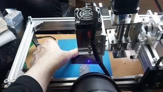 How to check your laser beam focusing. Very easy and simple method.