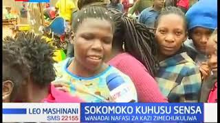 Vijana wazua rapsha wakidai nafasi za ajira