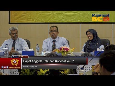 Rapat Anggota Tahunan Kopesat ke-27