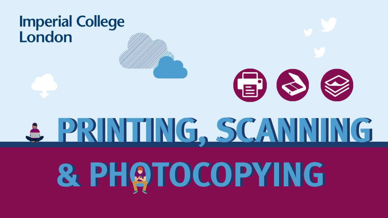 The following video will talk you through how to print, scan and copy documents using the College's touch card printers.