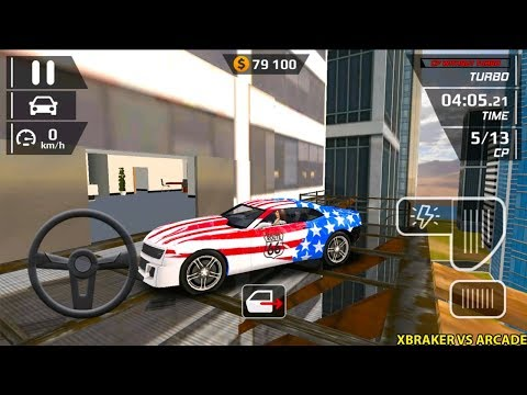 Smash Car Hit - Impossible Stunt - USA Mustang Sports Car - New Car Unlocked - Android Gameplay #3