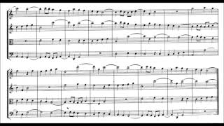 Mozart: Canon for four voices, in C major, Anh. 191, K 562c