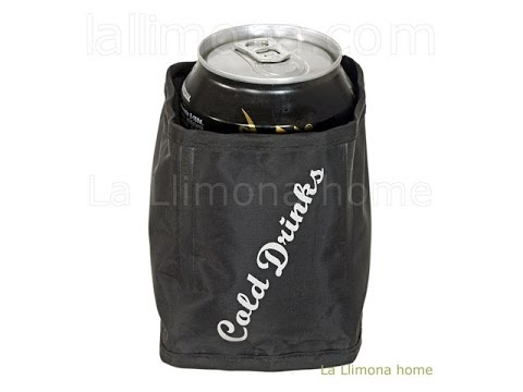 Enfriador bebidas en lata cold drinks set 4 - La Llimona