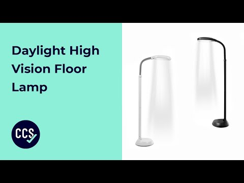Daylight High Vision Floor Lamp Overview