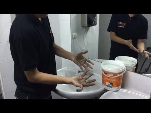 VIDEO    - Pasta lavamanos especial