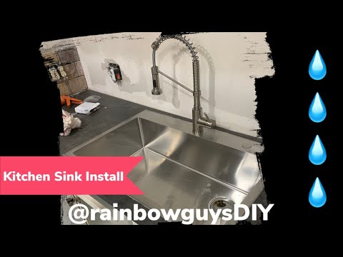 How to install a new Kitchen Sink (Part 1)
