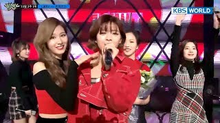 Behind The Scenes Of TWICE's Top Song Ceremony [Music Bank2017.11.10]