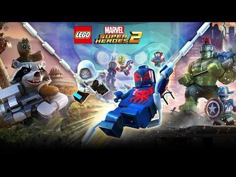 LEGO Marvel Super Heroes 2 Película Completa Español 1080p - Game Movie 2018