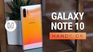 Samsung Galaxy Note10 & Samsung Galaxy Note10+ Hands-on