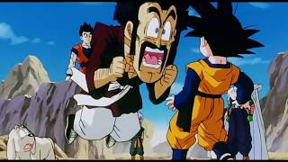 Mr. Satan  - (Dragon Ball) - Mr. Satan le grita a Gohan por Videl