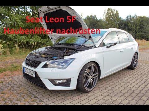 Seat Leon 5F Haubenlifter Einbauanleitung (VW-Modelle)