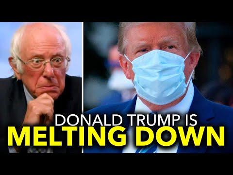 Bernie Sanders Clowns on Trump for Dodging the Upcoming Debate with Biden