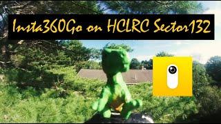 Jurassic Park!???? #Insta360 Go FPV Drone - HGLRC Sector 132