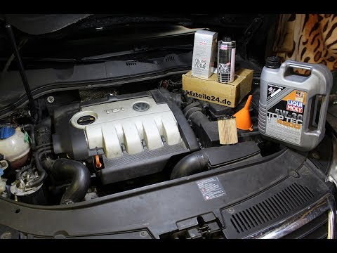 Liqui Moly - Motor Clean und Ölwechsel VW Passat 2.0 TDI TEIL 2/2