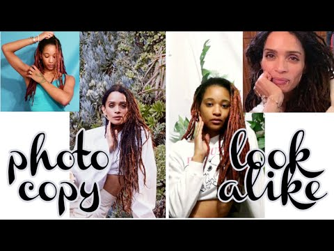 CELEBRITY LOOK ALIKE CHALLENGE |SELF LOVE At Home DIY PHOTOSHOOT | Copy/Mimicking Actress Lisa Bonet