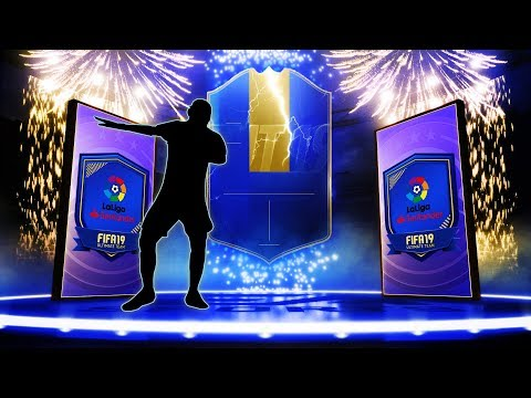 4X LA LIGA TOTS GUARANTEED PACKS! 93+ TOTS PULL! #FIFA19 ULTIMATE TEAM