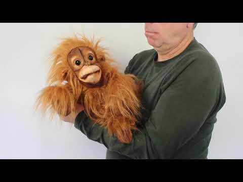 plyšový Orangutan mládě