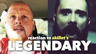 Skillet   Legendary (Lyric Video) | REACTION...