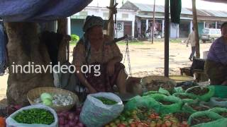Market Area, Jalukie, Nagaland