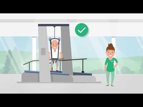 THERA-Trainer Gesamtlösung für Gangrehabilitation