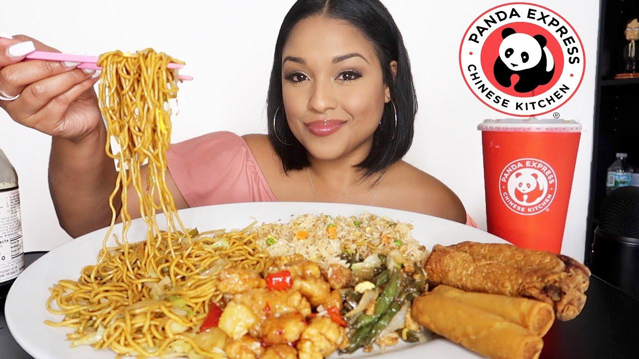 PANDA EXPRESS CHINESE FOOD MUKBANG